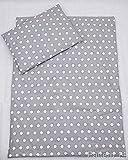 2-teiliges Baby Kinder Bettbezug 80 x 70 cm mit Kopfkissenbezug - Muster 14