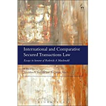 International and Comparative Secured Transactions Law: Essays in honour of Roderick A Macdonald
