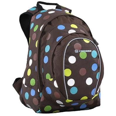 Spice (polka dot) - girls small 24 litre funky daypack