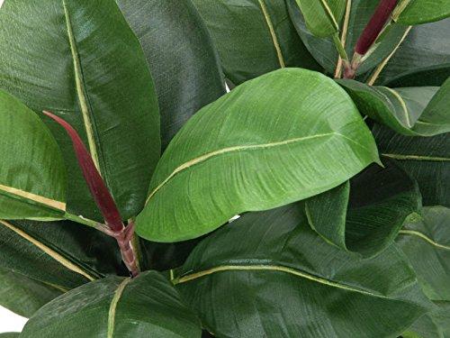 Gummibaum, 120cm, Kunstpflanze