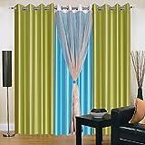 Vugis Polycotton Curtain-Set of 4 ( 213 ...