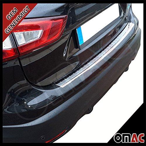 Preisvergleich Produktbild OMAC 5023093 Chrom Ladekantenschutz Edelstahl mit Abkantung