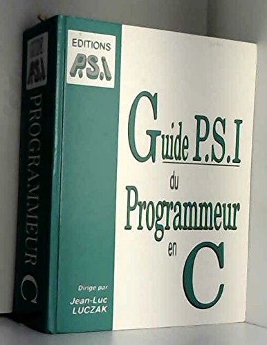 Guide P.S.I. du programmeur en C