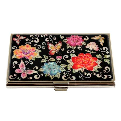 Porte-cartes visite Femme Nacre Métal Sac à main Design Original Corée PIVOINE
