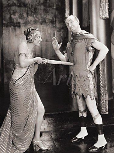 Artland Leinwand auf Keilrahmen oder gerolltes Poster mit Motiv Filmszene Vamping Venus, 1928 Film & TV Stars Fotografie Schwarz/Weiß C4WR