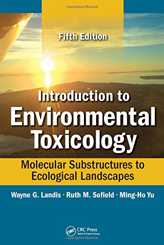 Introduction to Environmental Toxicology: Molecular Substructures to Ecological Landscapes, Fifth Edition