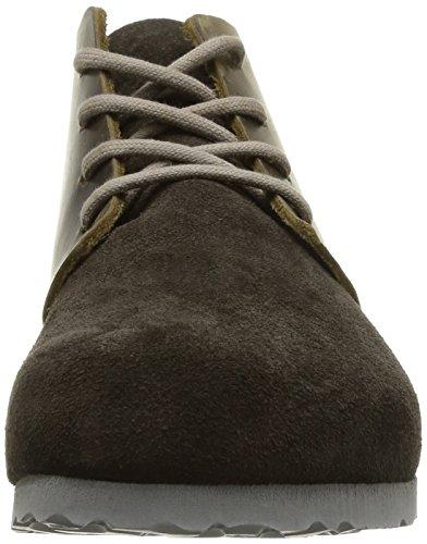 Birkenstock Dundee Antique, Chaussures de ville mixte adulte Marron (Mocca/Dune)