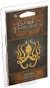 Fantasy Flight Games FFGGT39 House Greyjoy Intro Deck: Juego de Tronos, Multicolor