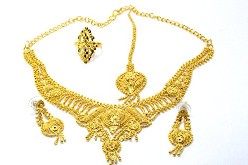 bollywood-schmuck-maruti-gold-collier-4-teilig-farbe-gold-ae13