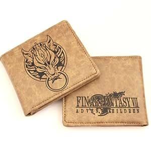 Final Fantasy 7 Advent Children - Clouds symbol Leather Portefeuille Porte-monnaie Bourse avec LIVRAISON GRATUITE
