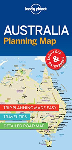 Lonely Planet Australia Planning Map (Lonely Planet Planning Map) par Lonely Planet