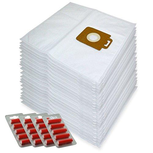 Kompakt-staubsauger Ersatz Tasche (Spares2go Mikrofaser Staubsaugerbeutel für Nilfisk Power P10,P12,P20,P40Staubsauger, 20Stück + 20Lufterfrischer)