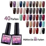 Saint-Acior UV Gellack Set Gel Nagellack Nail Gel polish 8ml uv Nagelgel Farbenset -Wählen Sie 15 Farben-