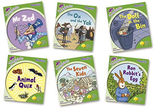 Oxford Reading Tree Songbirds Phonics Level 2, More Stories: Mixed Pack of 6