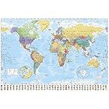 GB eye Ltd, World Map, Maxi Poster, (61x91.5cm) GN0214