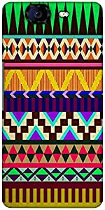 Snoogg Aztec Big Flow Designer Protective Back Case Cover For Micromax Canvas Knight A350