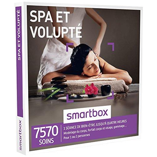 SMARTBOX - Coffret Cadeau - SPA ET VOLUPTÉ - 7570 soins : modelage du corps, forfait...