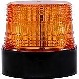 Gyrophare LED orange 12V sans fil lumière stroboscopique feux clignotant magnetique d'urgence signalement lumières pour auto véhicule | Rechargeable
