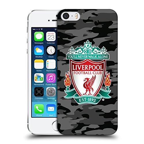 Head Case Designs Offizielle Liverpool Football Club Away Cresto Farben Camou Harte Rueckseiten Huelle kompatibel mit iPhone 5 iPhone 5s iPhone SE