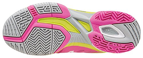 Mizuno Damen Wave Exceed Sl Ac Wos Tennisschuhe Rosa (Electric/White/Limepunch)