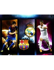 Christiano Ronaldo Real Madrid Poster brillant Format A1 83,8 x 61 cm
