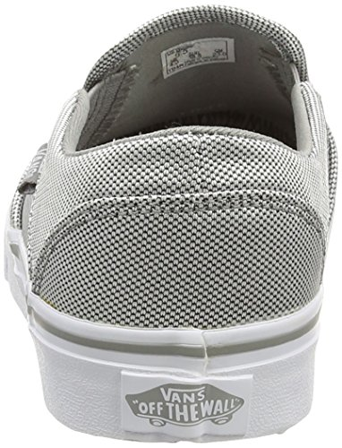 Vans  W ASHER WASHED, Sneakers Basses femme Argent - Silver (Textile - Silver/White)