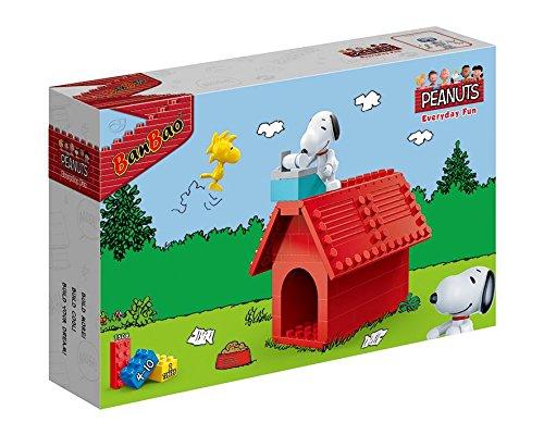 BanBao 7508Snoopy Hund House, Multi Farbe (Woodstock Hund Spielzeug)