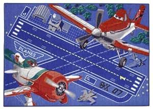 Associated Weavers 616091 Tapis Disney Planes Décollage Polyamide Mousse Gel 95 x 133 cm