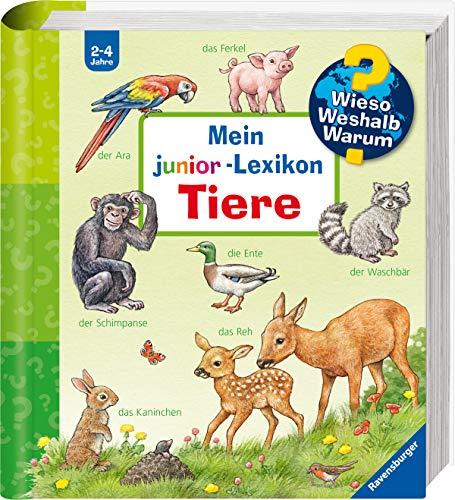Mein junior-Lexikon: Tiere (Wieso? Weshalb? Warum? Sonderband) (Tier Lexikon Für Kinder)