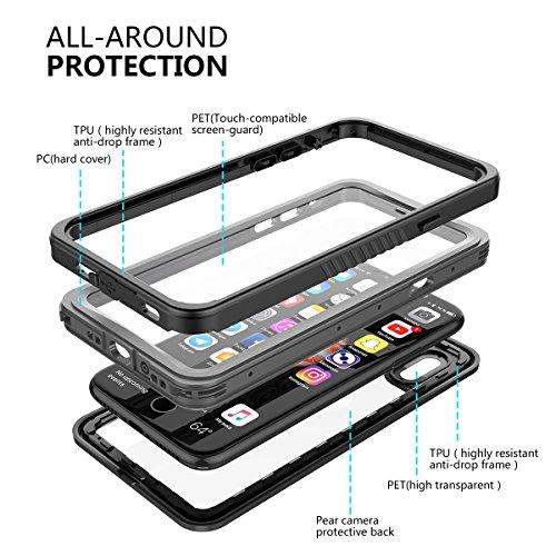 custodia antipolvere iphone x