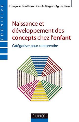 Naissance et développement des concepts chez l'enfant - Catégoriser pour comprendre