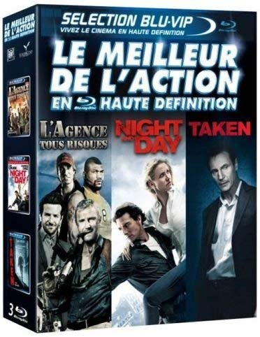 Coffret action : l'agence tous risques ; night and day ; taken [Blu-ray] [FR Import] -