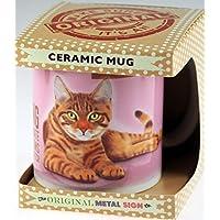 Gatto Soriano Character Quote Tazza in ceramica in confezione regalo