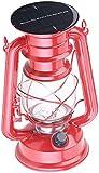 Lunartec Solar LED Lampe: Deko-Sturmlampe mit 12 LEDs & Solarbetrieb, 40 Lumen, 1,5 Watt, 23 cm (Solar Sturmlampe)