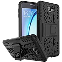 RGSG-D2Kickstand -Back-Cover-for-Samsung Galaxy J7 Prime (Black,Rubber, Plastic)