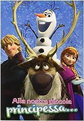 Idea Regalo - Disney Frozen - Biglietto D'Auguri alla Nostra Principessa