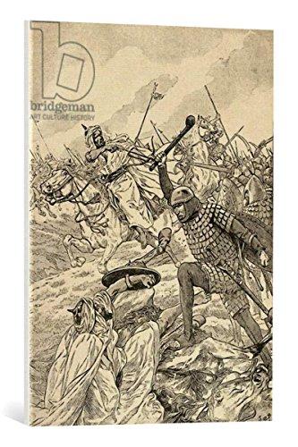 cuadro-en-lienzo-anonymous-the-battle-of-tours-aka-the-battle-of-poitiers-732-from-agenda-buvard-du-