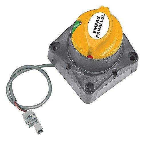 Cont Panel (Bep Marine Bat sw MD EP 275Cont MC6A analogen und desconectador, Unisex Erwachsene, schwarz, Einheitsgröße)