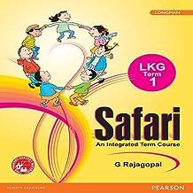 Safari CBSE LKG 1, Term Book 1