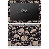 Samsung Galaxy Tab 10.1 Autocollant Protection Film Design Sticker Skin Crâne Méchant Gothique