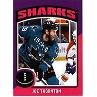 2014 15 O Pee Chee NHL Sticker # ST-60 Joe Thornton - San Jose Sharks