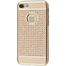 iShield 7 Luxury Cases with Crystals from Swarovski for iPhone 7 - Case Type: iShield 7 Luxus Gold