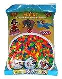 Hama 201-51 - Bügelperlen, ca. 3000 Perlen, neon, gemischt