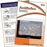 mumbi Displayschutzfolie Samsung P5100 P5110 Galaxy Tab 2 10.1 (10,1 Zoll) Schutzfolie AntiReflex antireflektierend