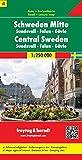 Schweden Mitte - Sundsvall - Falun - Gävle, Autokarte 1:250.000, Blatt 4, freytag & berndt Auto + Freizeitkarten: Sundsvall - Falun - Galve