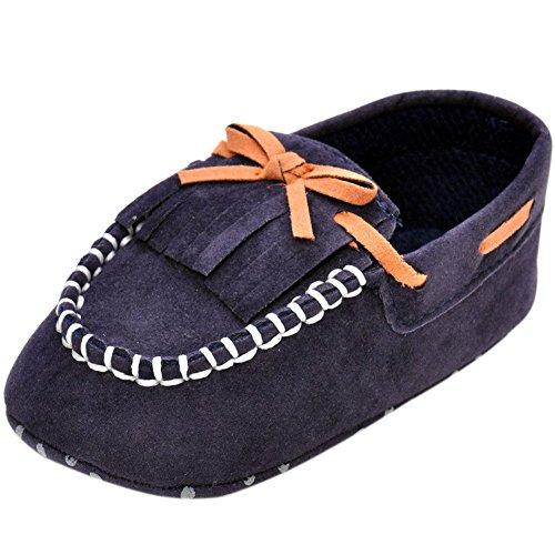 Fire Frog  Loafers-shoes,  Baby, Jungen Slipper Dunkelblau