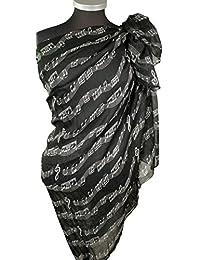 Immerschön Tuch Schal Pareo Strandtuch Wickeltuch Sarong in vielen Motiven und Farben