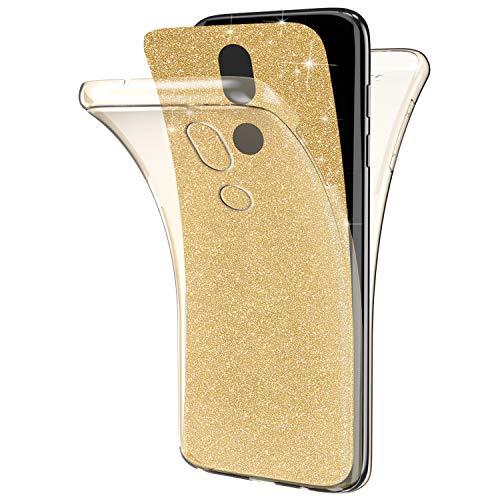 1b00e7a8e1c Ukayfe Funda Compatible con Moto G4 Play,[Brillo Brillante Estilo] Cuerpo  Completo Protección