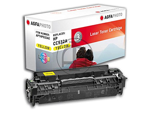 Preisvergleich Produktbild AgfaPhoto APTHP532AE Tinte für HP CLJCP2025 Cartridge, 2800 Seiten, gelb