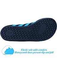 Sibba unisex zapatos de agua de natación Calzado de Agua Calzado de Surf Calzado de Playa (azul, L(38-39))